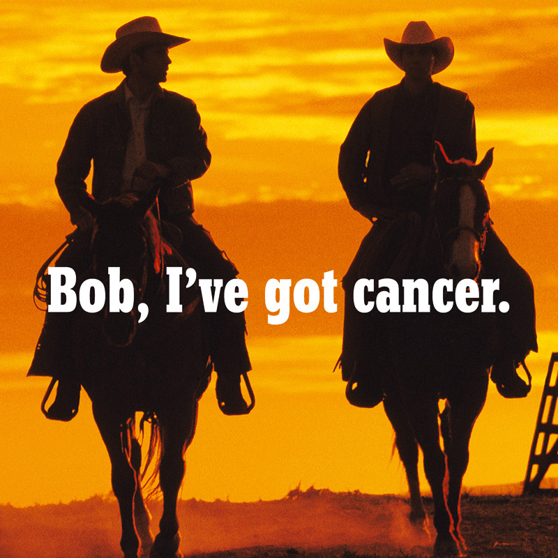 Bob, I've got cancer | Poster