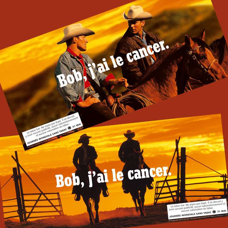 Bob, j'ai le cancer | Poster