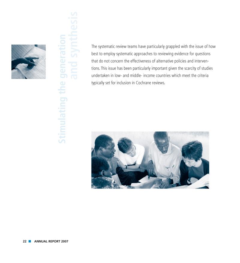 Alliance HPSR | Rapport annuel