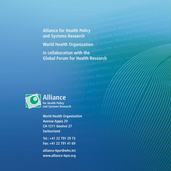Identité visuelle de l'Alliance HPSR | Couverture de CD