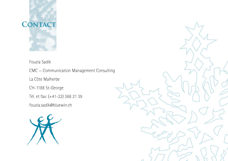 CMC | Dos de la brochure