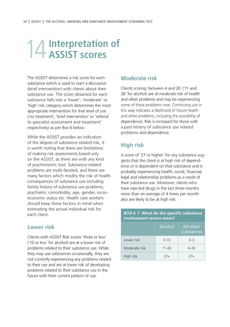 ASSIST | Brochure design