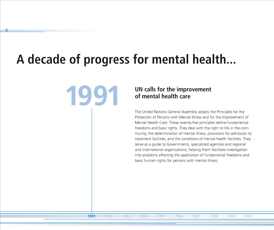Nations for mental health | Brochure