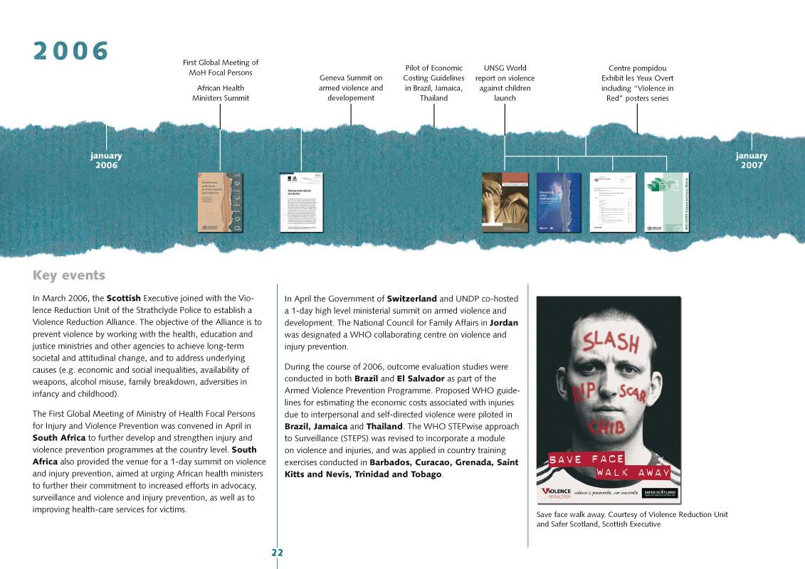 Third milestones | Page de la brochure