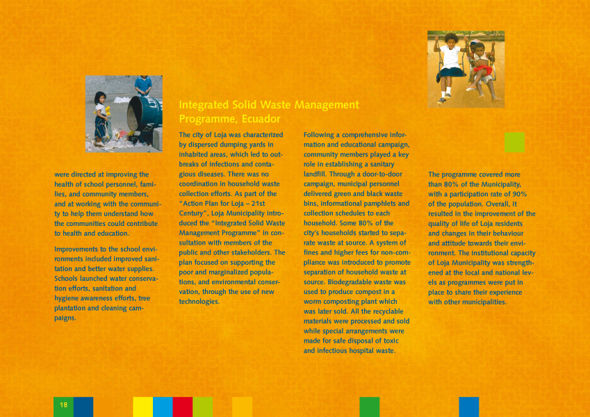 Un environnement sain pour les enfants | Brochure