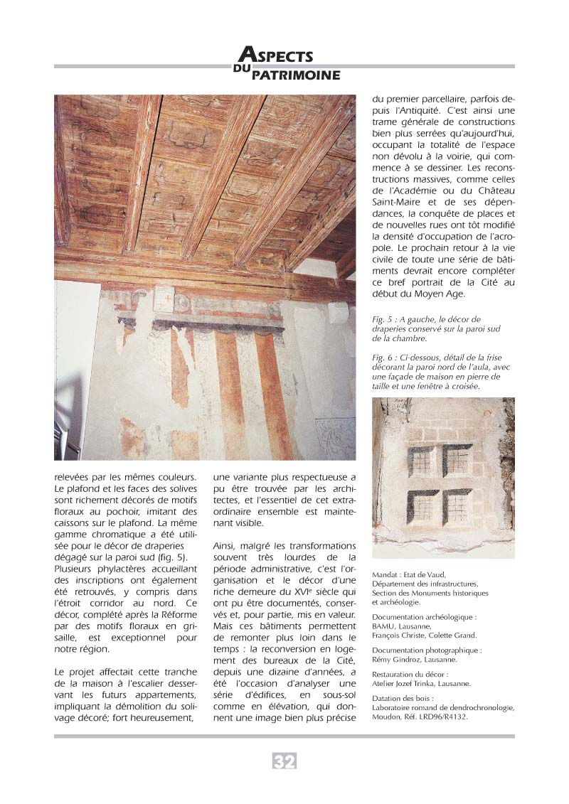 Aspects du patrimoine | Brochure p32
