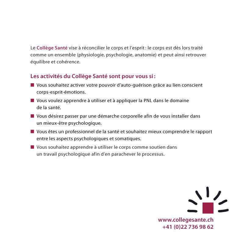 Collège Romand | Brochure p19