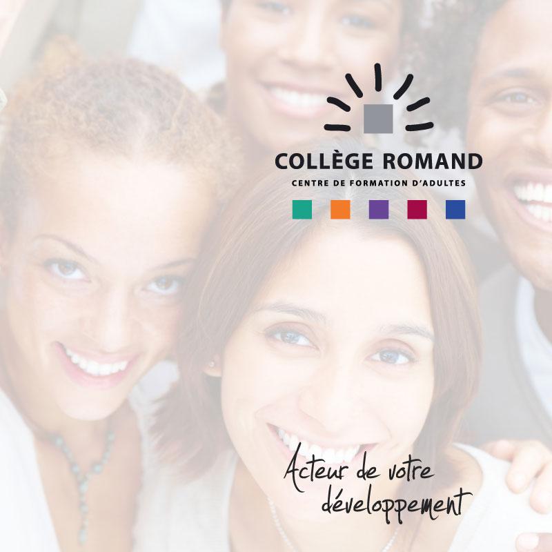 Collège Romand | Brochure couverture