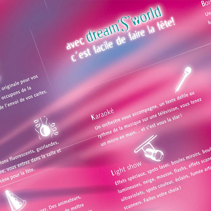 dream'S'world | Dépliant