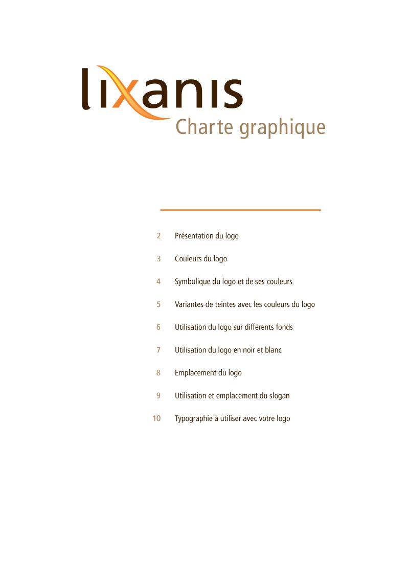 Lixanis | Charte graphique p1