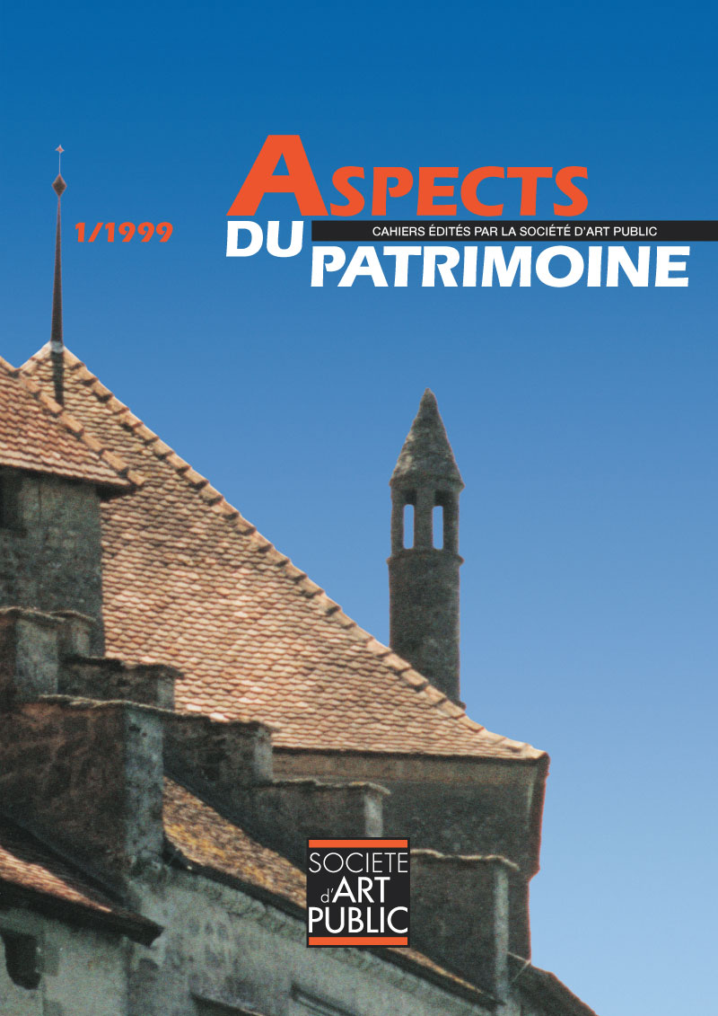 Aspects du patrimoine | Brochure couverture