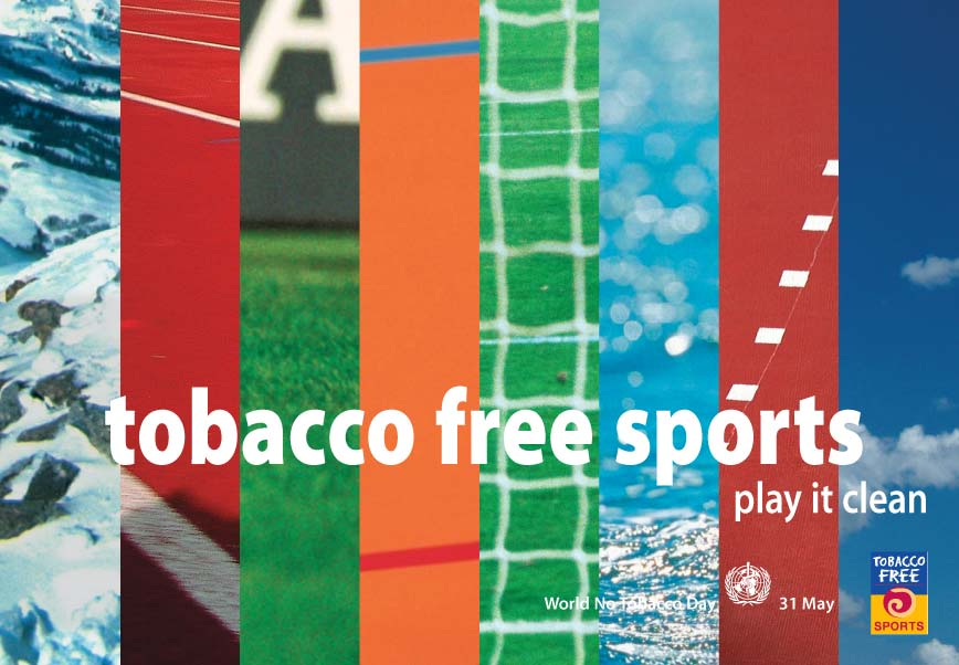 Tobacco free sports | Page couverture