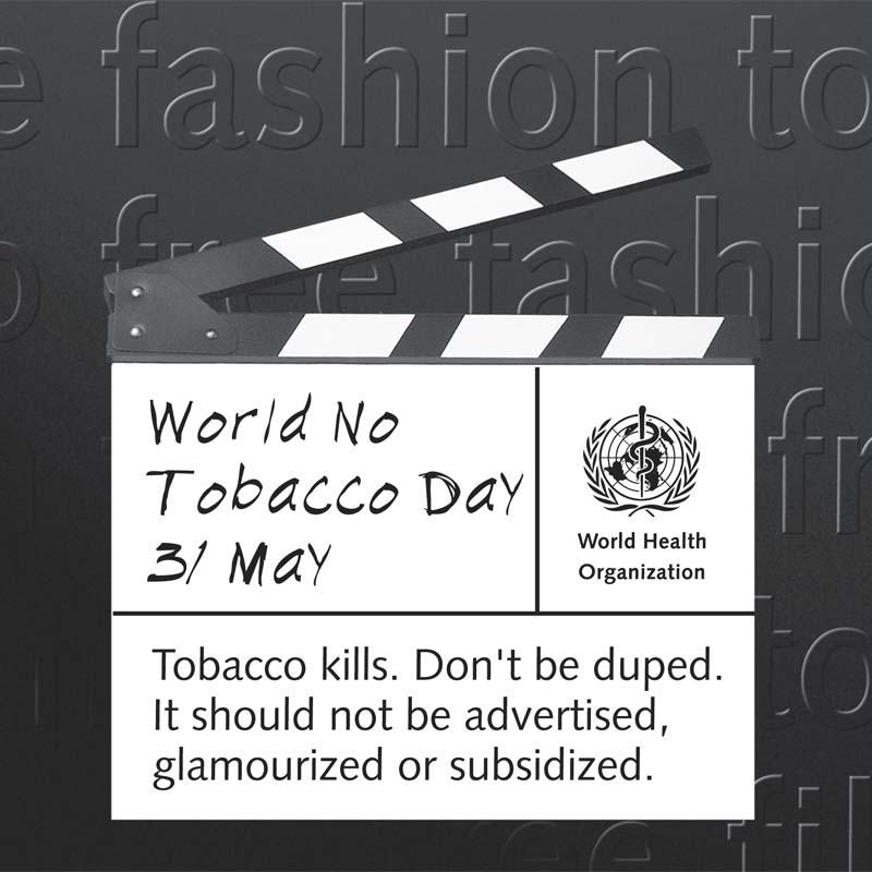 TFF | Cinéma sans tabac, mode sans tabac. Action! | Poster clap