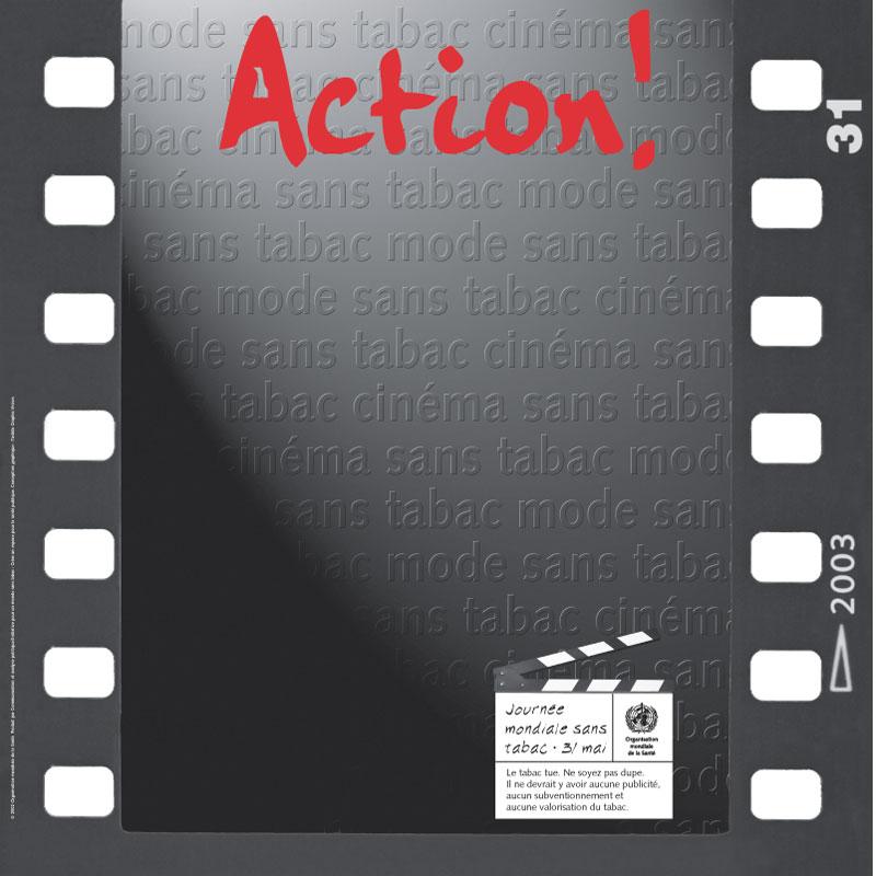 TFF | Cinéma sans tabac, mode sans tabac. Action! | Poster bas