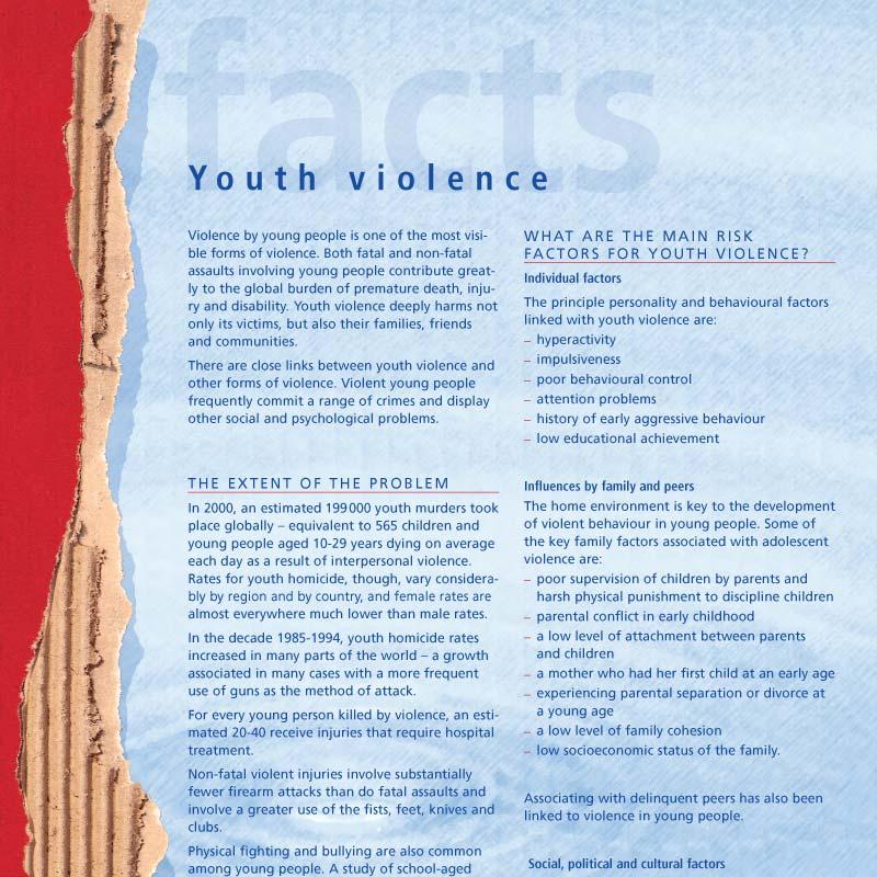 VIP | Prévention de la violence | Facts