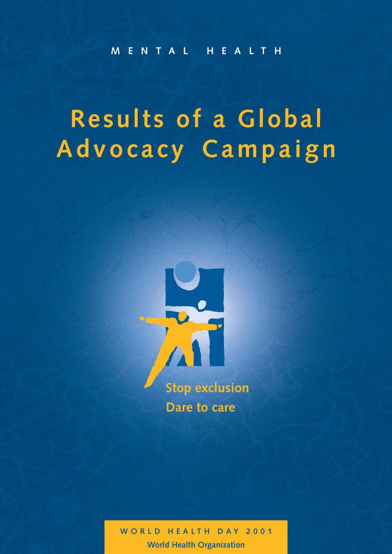 MH | Non à l'exclusion, oui aux soins | Advocacy