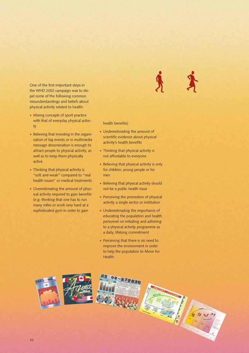 Pour la santé bougez | Rapport p 12