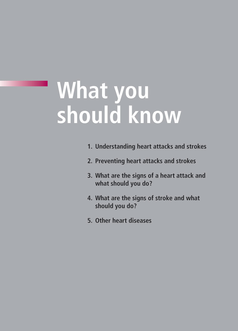 Avoiding heart attacks and strokes | Brochure p 8